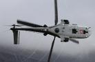 Super Puma creating vortices