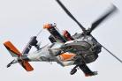 RNLAF Boeing AH-64D Apache solo display 2011