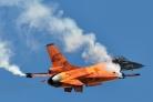 RNLAF F-16AM solo display