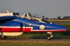 Patrouille de France taxiing in beautiful evening light
