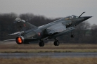 Mirage F1 taking off