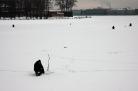 Ice fishing - St. Petersburg