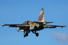 Sukhoi Su-25UB 93 red