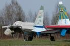 Sukhoi Su-27 02 blue