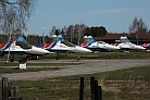 Sukhoi Su-27s of the Russian Knights