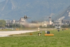 Sion airbase - F/A-18 Hornet takes off