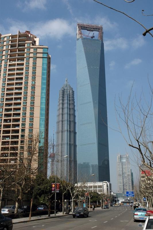 Jin Mao Tower and Shanghai World Financial Center-© Rogier Vermeulen
