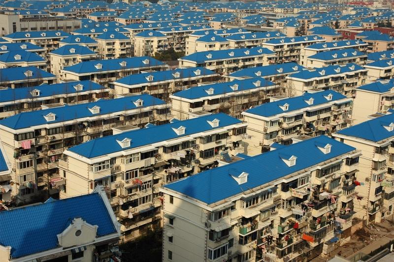 Shanghai Pudong apartment buildings-© Rogier Vermeulen