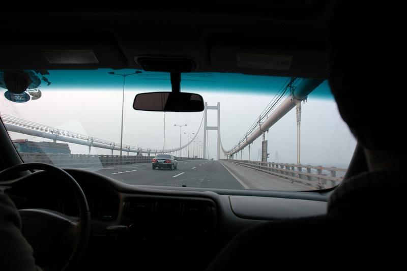 Runyang Bridge, fourth largest suspension bridge in the world (main span of 1,490 metres)-© Rogier Vermeulen