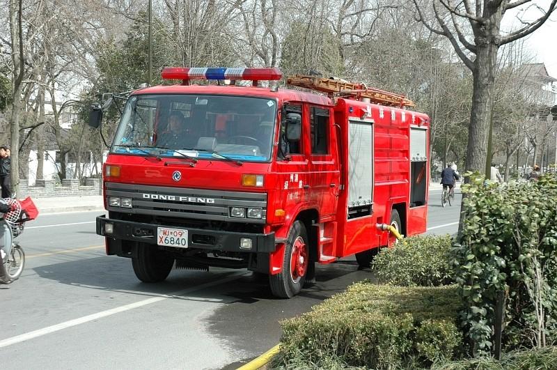 Nice Dong Feng firetruck-© Rogier Vermeulen