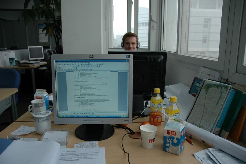 At the office-© Rogier Vermeulen