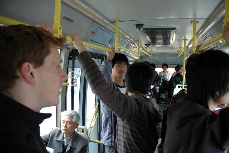 Bus to the railway station, Yangzhou-© Rogier Vermeulen