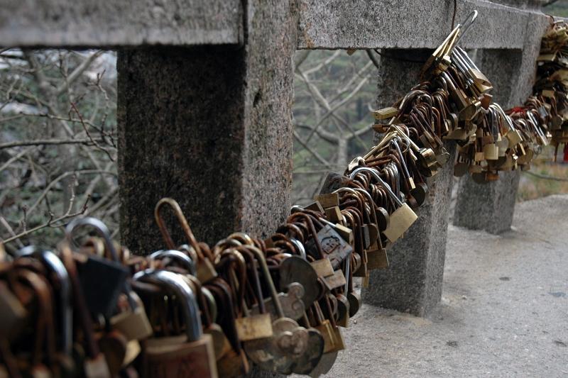 'Love locks'-© Rogier Vermeulen