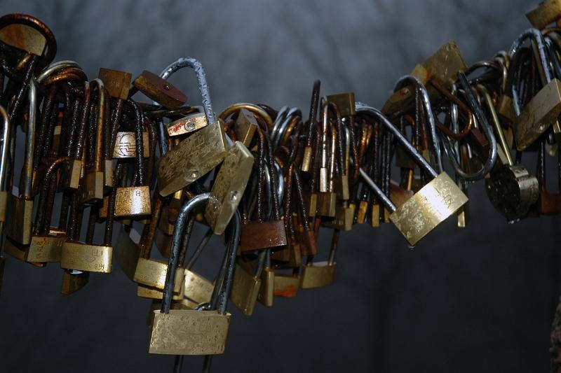 Love locks, Huangshan-© Rogier Vermeulen