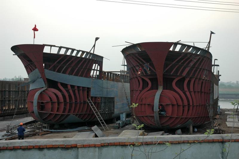 JiuLong shipyard, Jiangdu-© Rogier Vermeulen