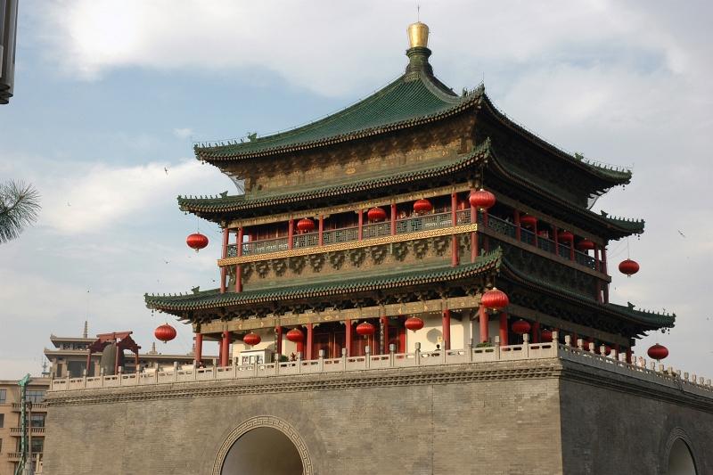 Bell tower, Xi'an-© Rogier Vermeulen