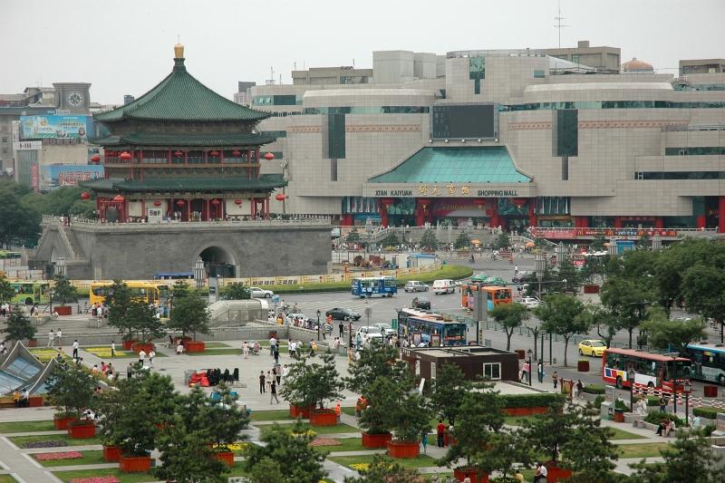Downtown Xi'an-© Rogier Vermeulen