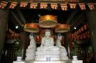 Statues in Da Ming Temple complex, Yangzhou