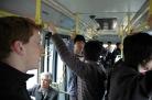 Bus to the railway station, Yangzhou
