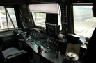 Chinese locomotive cabin