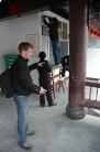Strange way of building a ladder, Huangshan