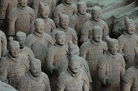 The famous Terracota Army
